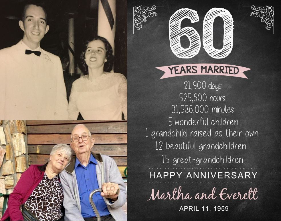 Martha and Everett 11x14
