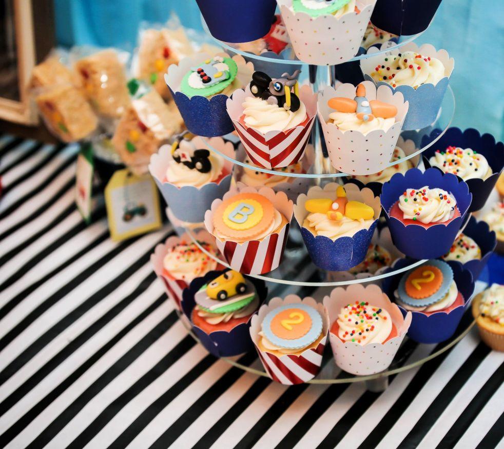 Transportation Cupcakes