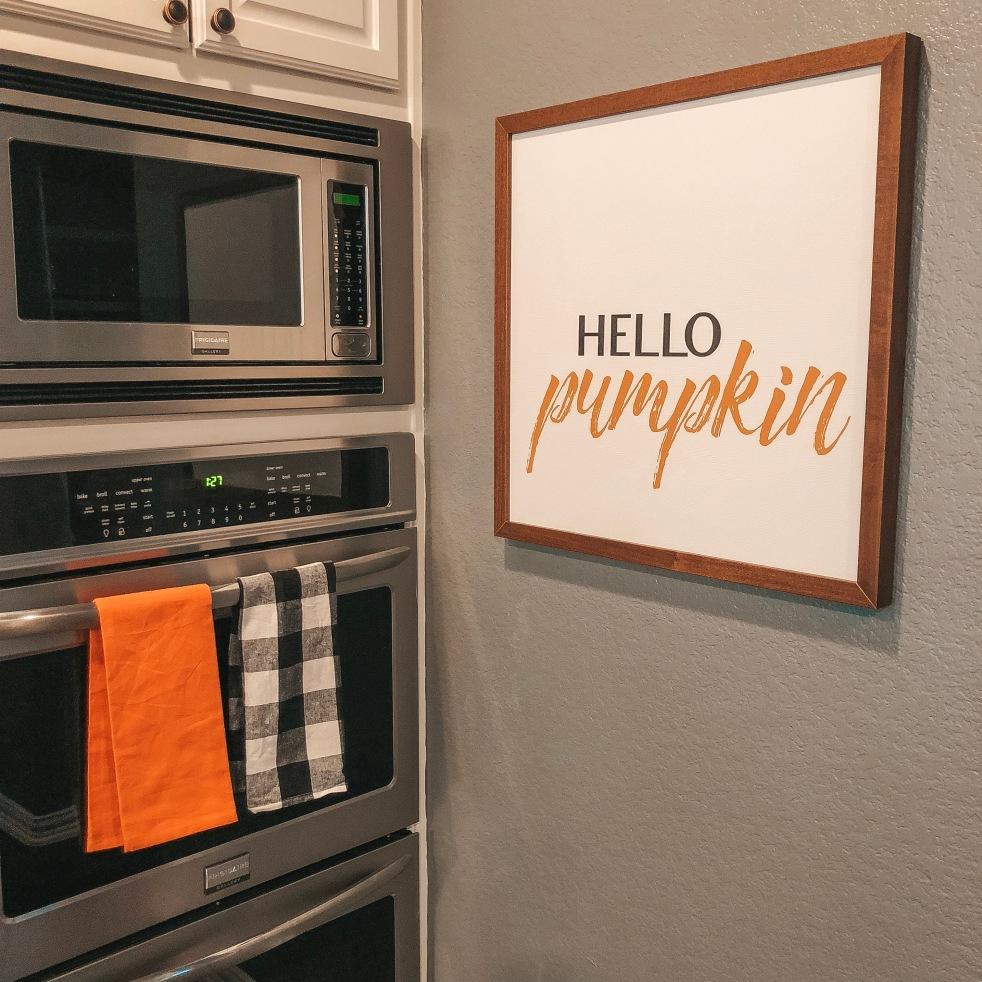 Fall Decor, Halloween Decor, Pumpkin Party, Pumpkin Sign, Hello Pumpkin Sign